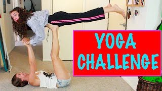 YOGA CHALLENGE!(Today i did the yoga challenge with rachel my assistant. she isnt good. watch our video on her channel - https://www.youtube.com/watch?v=XxxcA5rew4w get ..., 2014-07-10T19:30:01.000Z)