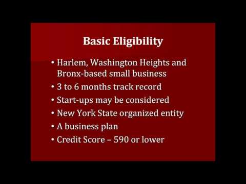 2016 05 11 Harlem Entrepreneurial Fund: Small Business Financing for Harlem and Bronx Based S