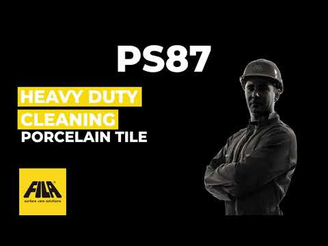ps87 heavy duty cleaner how to use it
