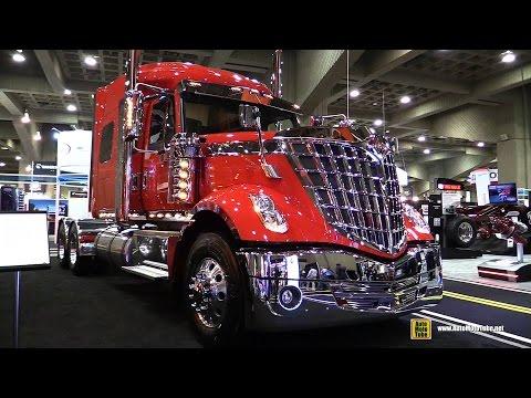 2015 International LoneStar Truck With Cummins ISX 450hp Engine - Exterior, Interior Walkaround