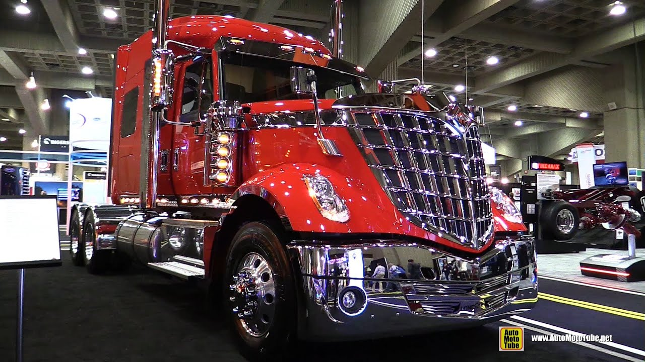2015 International LoneStar Truck with Cummins ISX 450hp ...