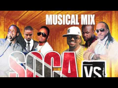 DJ Musical Mix Soca vs Dancehall Mix