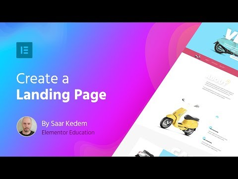 Build a Landing Page with Elementor: Step-by-Step