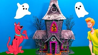 SCOOBY DOO Cartoon Network  Halloween Spooky Toy Video Parody