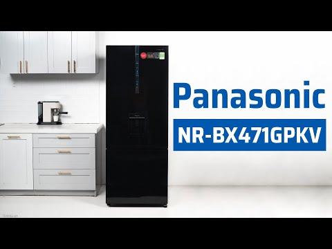 Trải nghiệm tủ lạnh 2 cánh ngăn đá dưới Panasonic NR-BX471GPKV