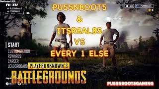 PLAYER UNKNOWN BATTLEGROUNDS W/ITSREAL85 #1 | WE STAY IN THE TOP 10!! OR 30!!