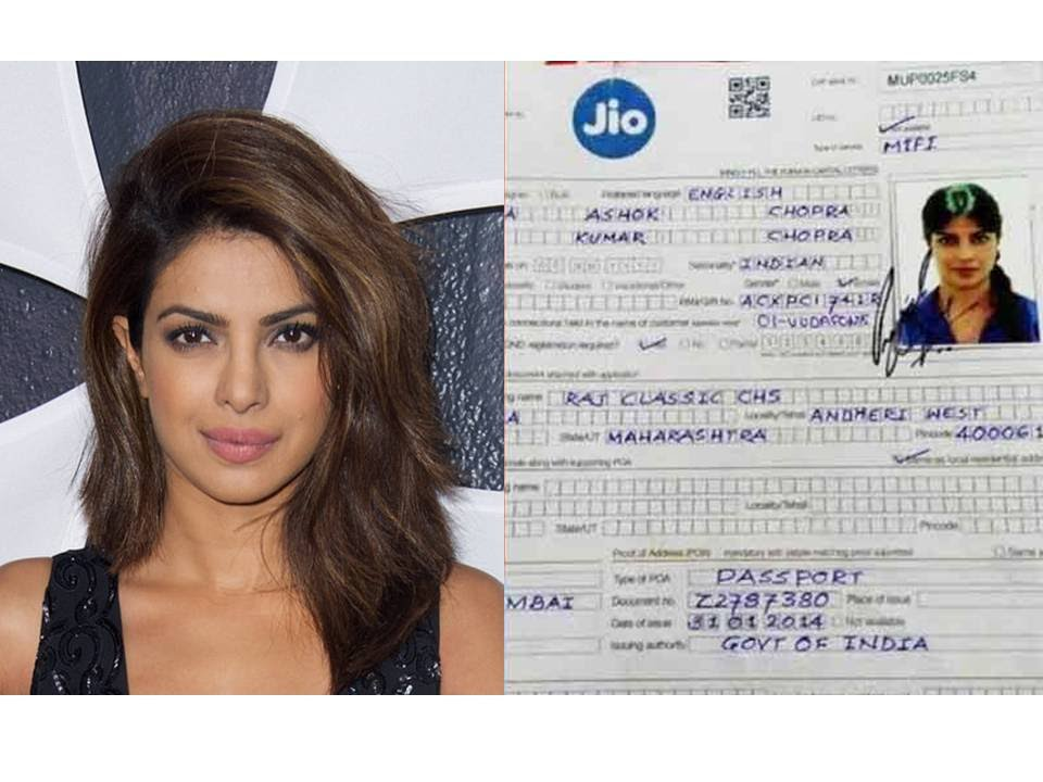 Priyanka Chopra Real Phone Number - Priyanka Chopra Age