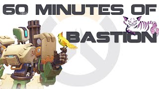 60 Minutes of Bastion - Overwatch PC Gameplay **REUPLOAD**