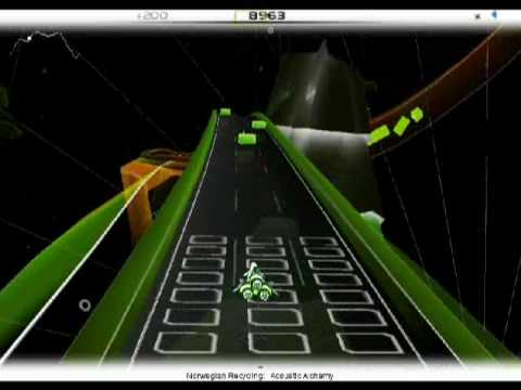 Acoustic Alchemy on Audiosurf (Ninja Mono Ironmode Stealth)