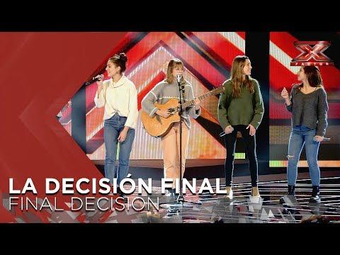 NOAH | Xavi Martínez & Jorge Ruiz | La Decisión Final | Factor X 2018