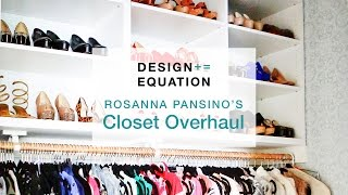 Rosanna Pansino's Closet Overhaul