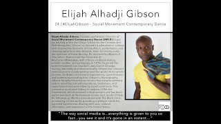 Episode 24 | #ElijahGibson - Social Movement Contemporary Dance