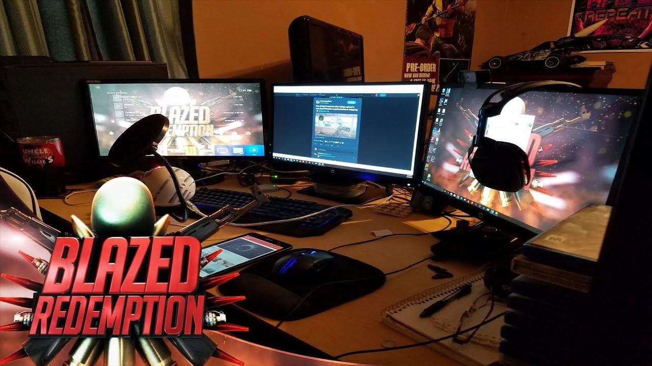 The Ultimate Gaming Pc Setup 2018 Youtube Setup Room