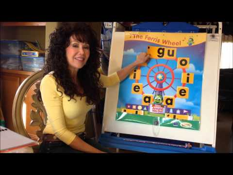 The Ferris Wheel Song - Beginning Consonants - Sing, Spell, Read & Write