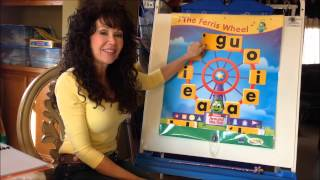 Sing, Spell, Read & Write: Ferris Wheel Song - Beginnning Consonants - Video #3