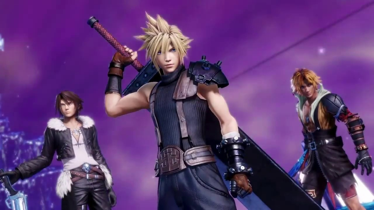 Dissidia Final Fantasy NT - Cloud Strife Sky-Soarer DLC