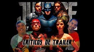 Críticos de Trailer: 01 - Liga da Justiça (Piloto)