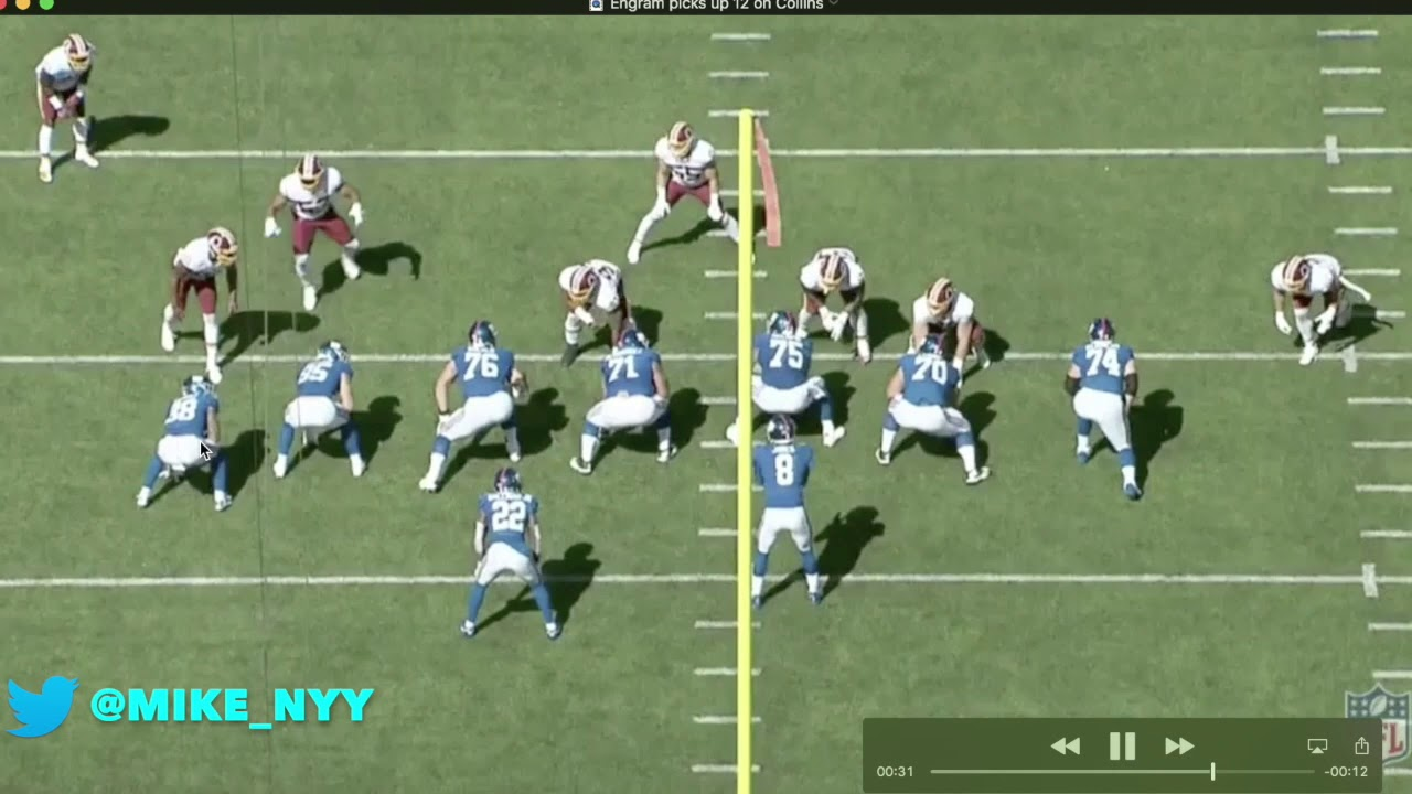 NY Giants Week 4 Film Breakdown vs Washington