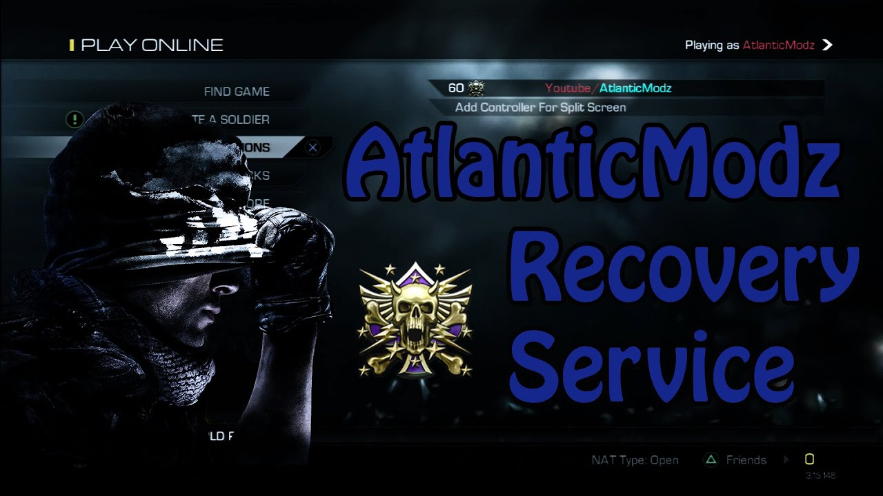 Call Of Duty Ghosts Recovery Service Unlock All Modded Rank Xbox360 Slim Reset Glitch Hack Rgh Modification Pictures To More Ps3 Ps4