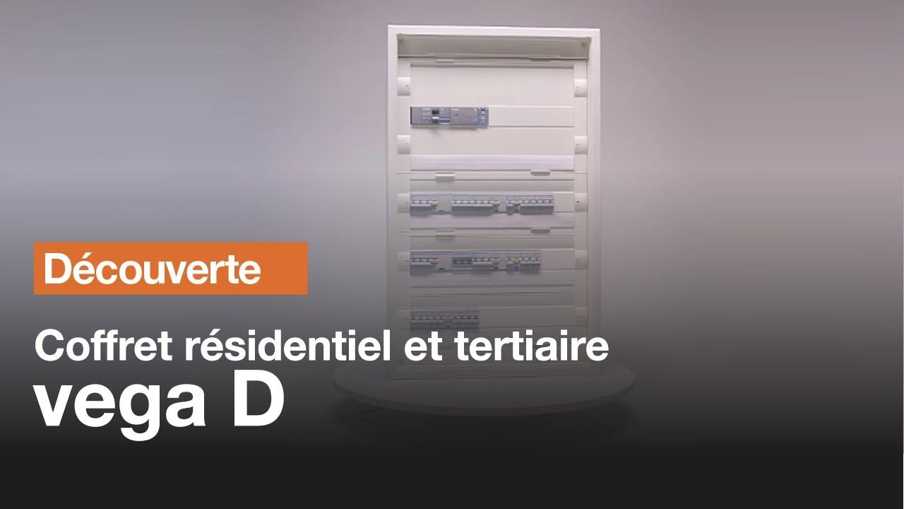 Coffret vega d pour le tertiaire et l 39 habitat youtube - Comment cabler une armoire electrique ...