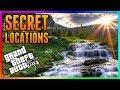 GTA 5 - SECRET LOCATIONS, HIDING SPOTS & HIDDEN WALLBREACHES IN GTA ONLINE! (GTA 5 Secret Locations)