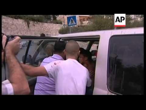 Palestinian boy run over in Jerusalem, Hamas demo