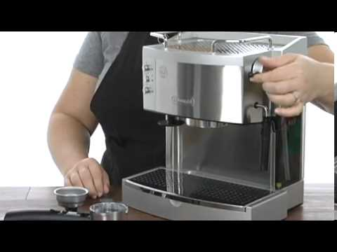 delonghi ec702 pump espresso maker stainless steel review