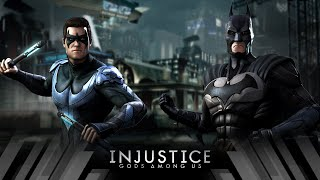 Injustice Gods Among Us - Nightwing Vs Batman (Very Hard)