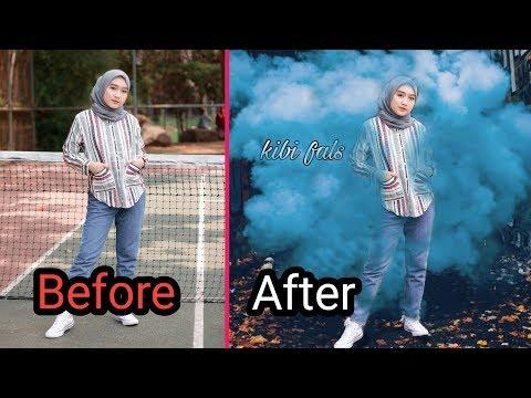 Cara Edit Foto Keren Di Picsart Android  | Kekinian