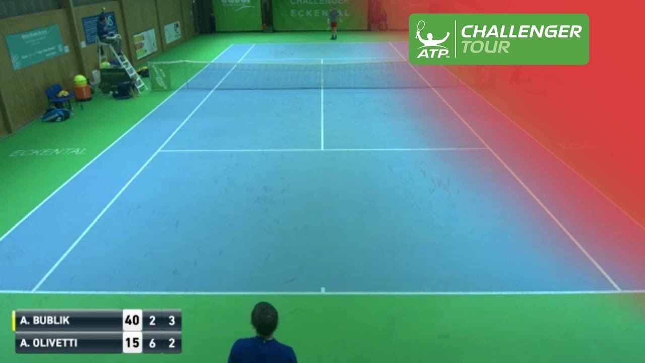 Umpire Catches Rocket Forehand At Eckental Challenger Youtube