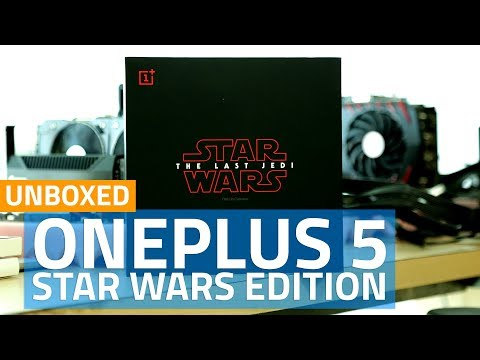 OnePlus 5T Star Wars Edition Unboxing and First Look