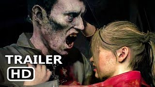 PS4 - Resident Evil 2: Licker Battle Gameplay Trailer (2018)
