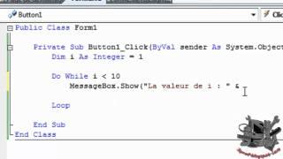 VBA : Structure en boucle avec condition - YouTube