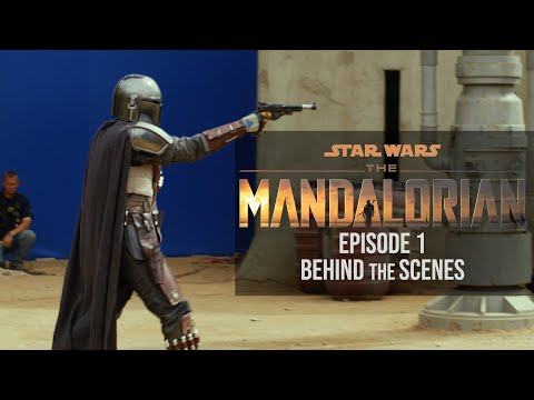 'The Mandalorian' was shot largely inside a California soundstage