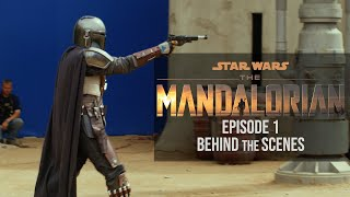 'The Mandalorian' Episode 1 Behind the Scenes