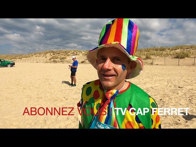 Foulée des Baïnes #7 - David le plus beau déguisé en Clown ! Grand Crohot Lège-Cap Ferret