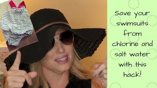 BATHING SUIT HACK- Protect your swimwear from chlorine and salt water!