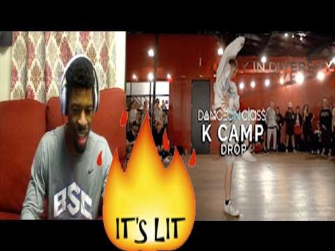 K Camp - Drop | David Moore Choreography | DanceOn Class Reaction