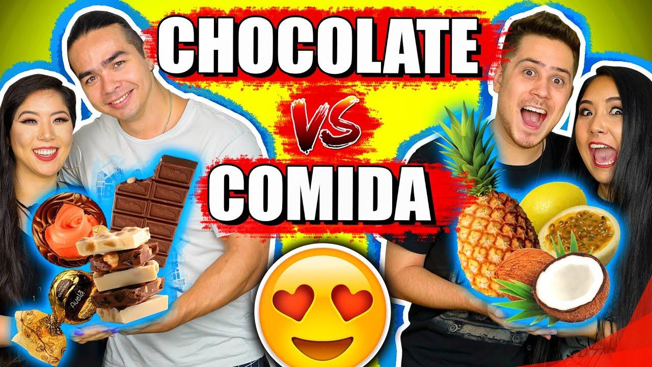 CHOCOLATE VS COMIDA | Blog das irmãs