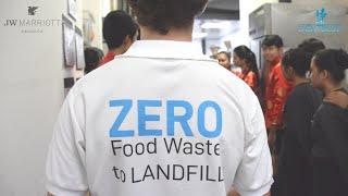 JW Marriott Bangkok saves 118 tons of Food!