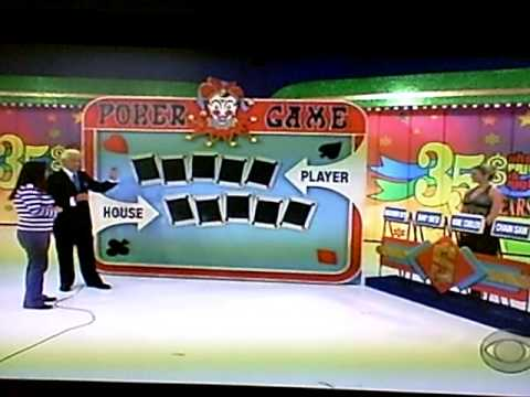 Poker Game (The Price is Right Pricing Game)