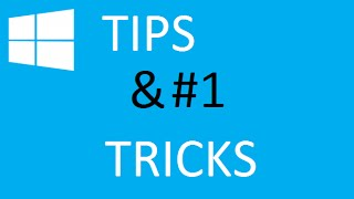 Cool 6 Tips & Tricks for Windows 10 Pro. Part #1