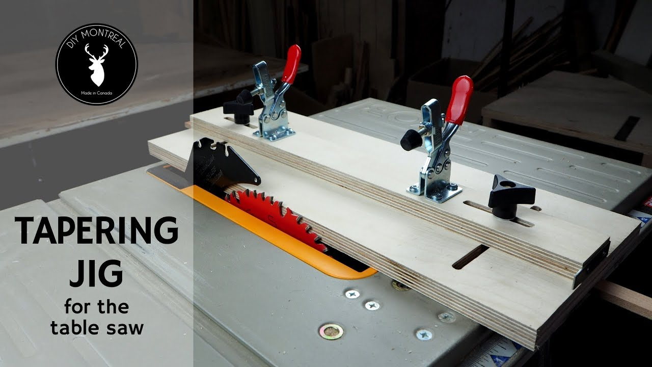 tapering jig: 9 steps (with pictures)