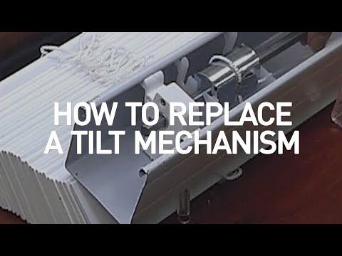 How to Replace a Blind Tilt Mechanism | Blinds.com DIY
