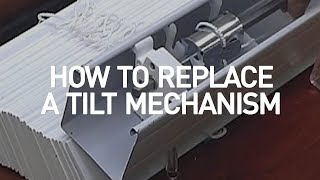 How to Replace a Blind Tilt Mechanism | Blinds.com DIY