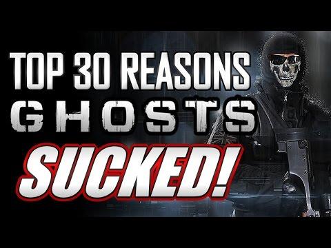 Top 30 Reasons Ghosts SUCKED!! (Top 30 COD Countdown)