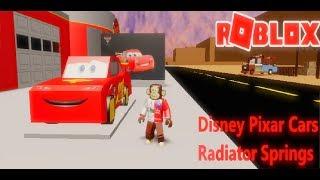 🚘DRIVING LIGHTNING MCQUEEN! 🏎 Disney Pixar Cars Radiator Springs (Roblox)