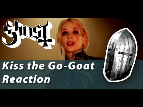 ghost---kiss-the-go-goat-reaction!