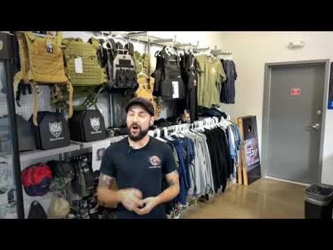 Tim is talking body armor! Get it now @capegunworks #yourlocalgunclerks