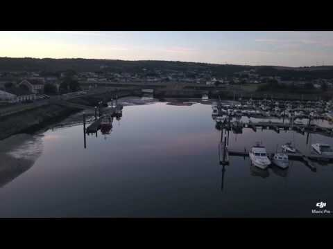 Burry Port Harbour DJI Mavic Pro